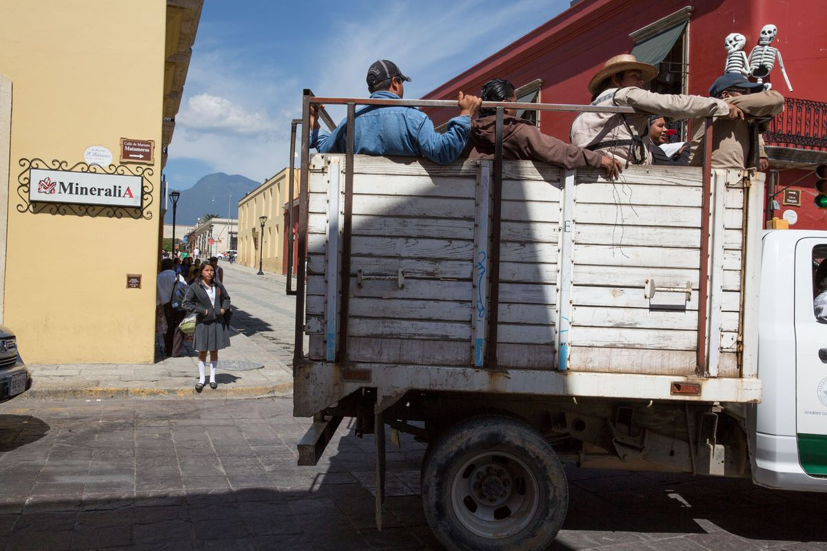 Street Corner, Oaxaca