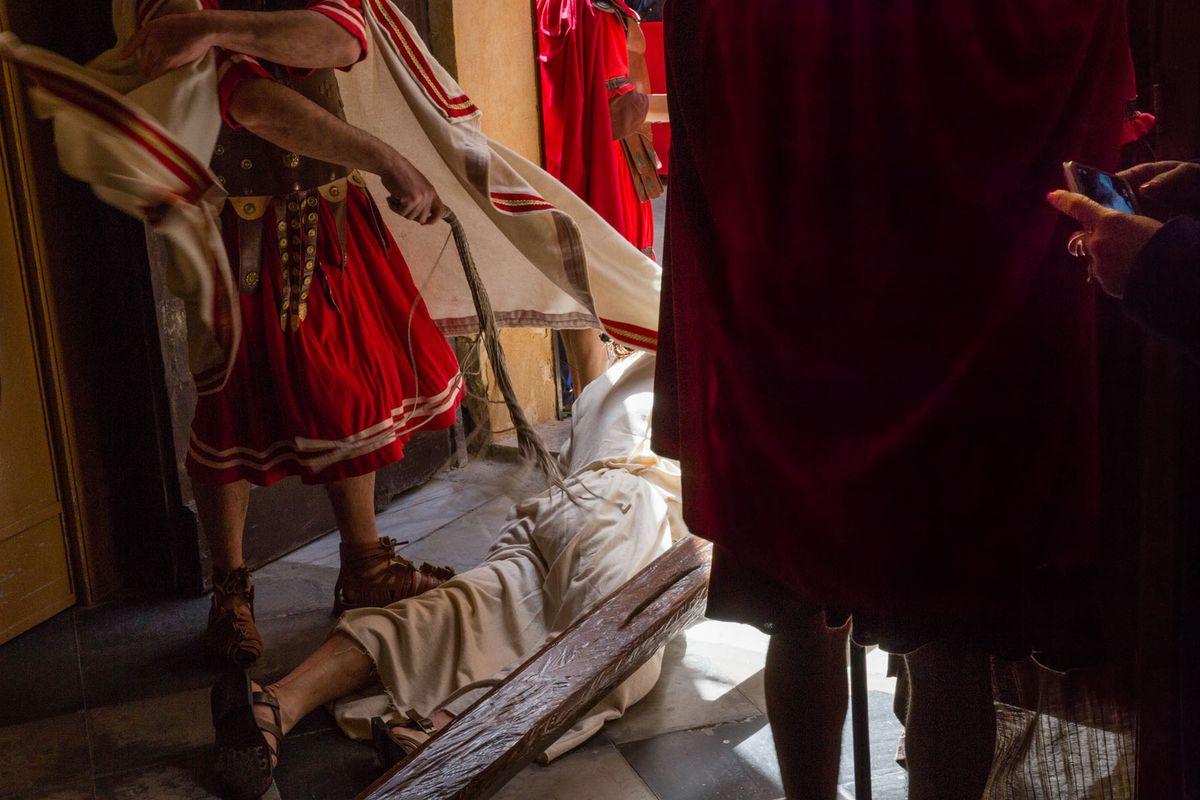 Christ Falls • The Procession at Marsala