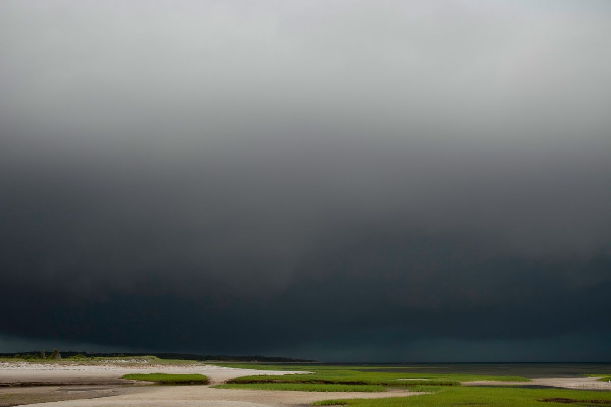 Black Sky, Storm Approaching
