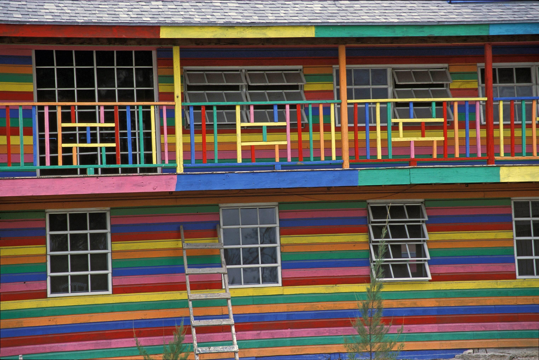 Painted Restaurant, Bahamas