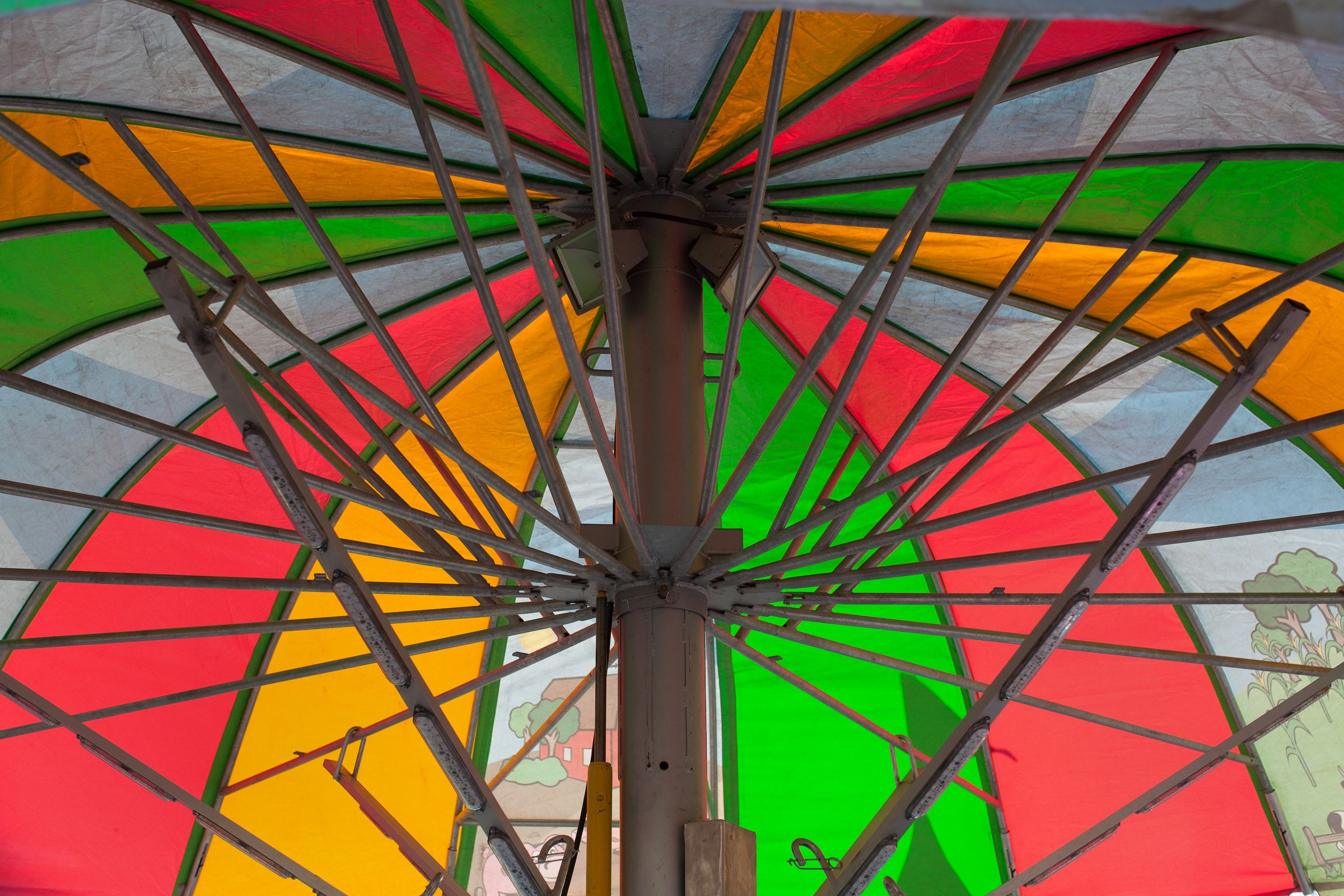 Beneath the Carnival Umbrella