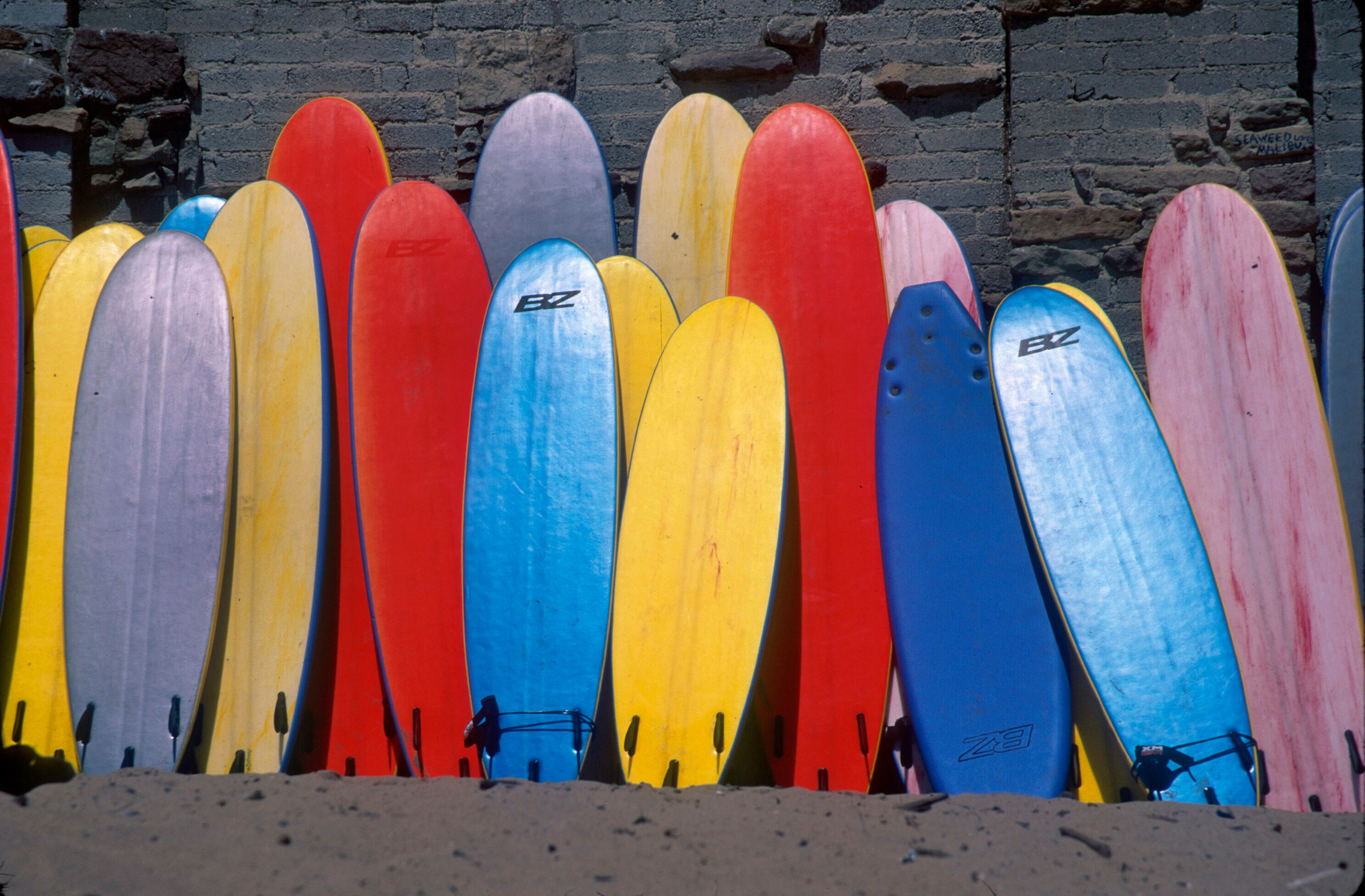 Surfboards, Malibu, California