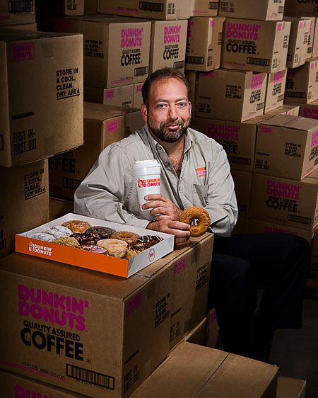 Dunkin Donuts warehouse manager