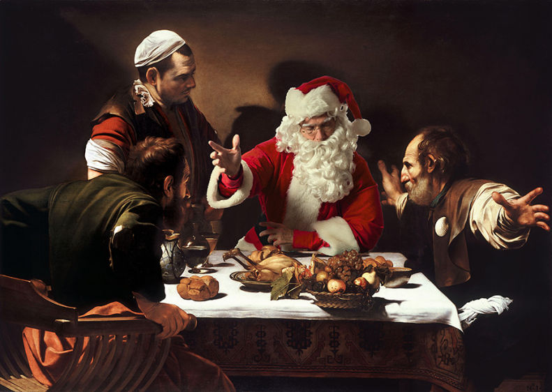 Caravaggio - Supper at Emmaus