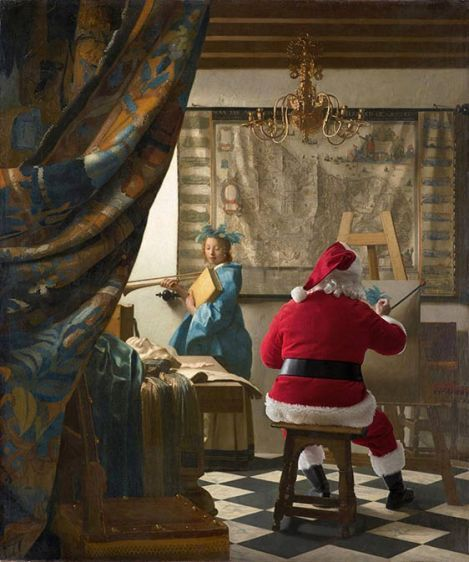 Vermeer - the art of painting