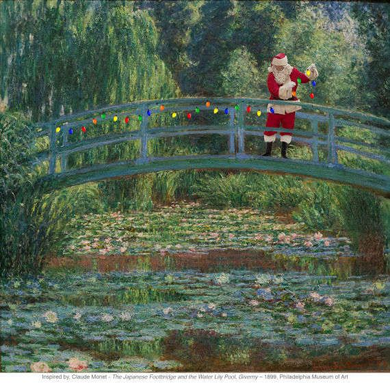 Monet  Japanese  Footbridge