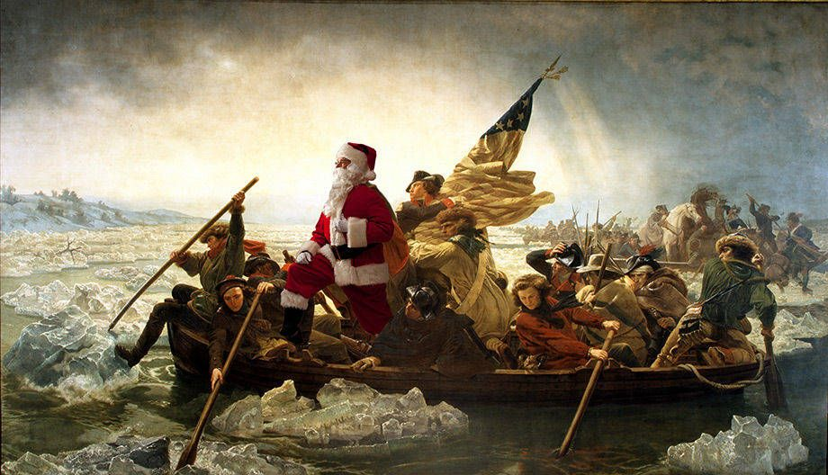 Leutze - Washington Crossing the Delaware
