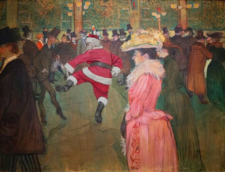 Lautrec - at the moulin rouge