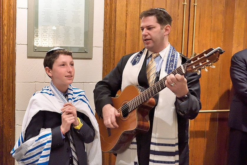 New York Cantor and Bar Mitzvah Boy