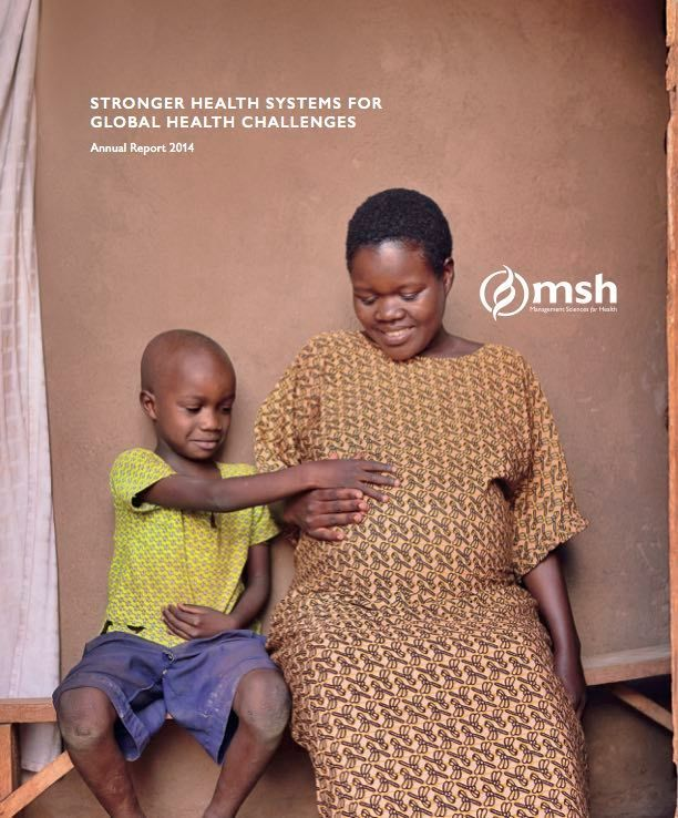 Cover of Annual Report for Management Sciences for Health (MSH), 2014