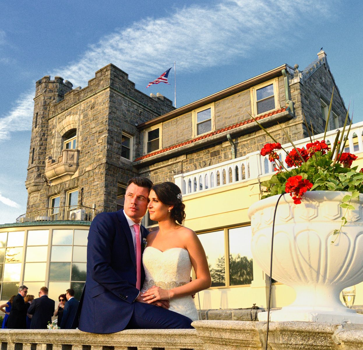 A summer Tarrytown House Wedding