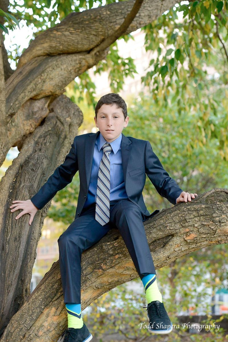 New York City Bar Mitzvah Portrait