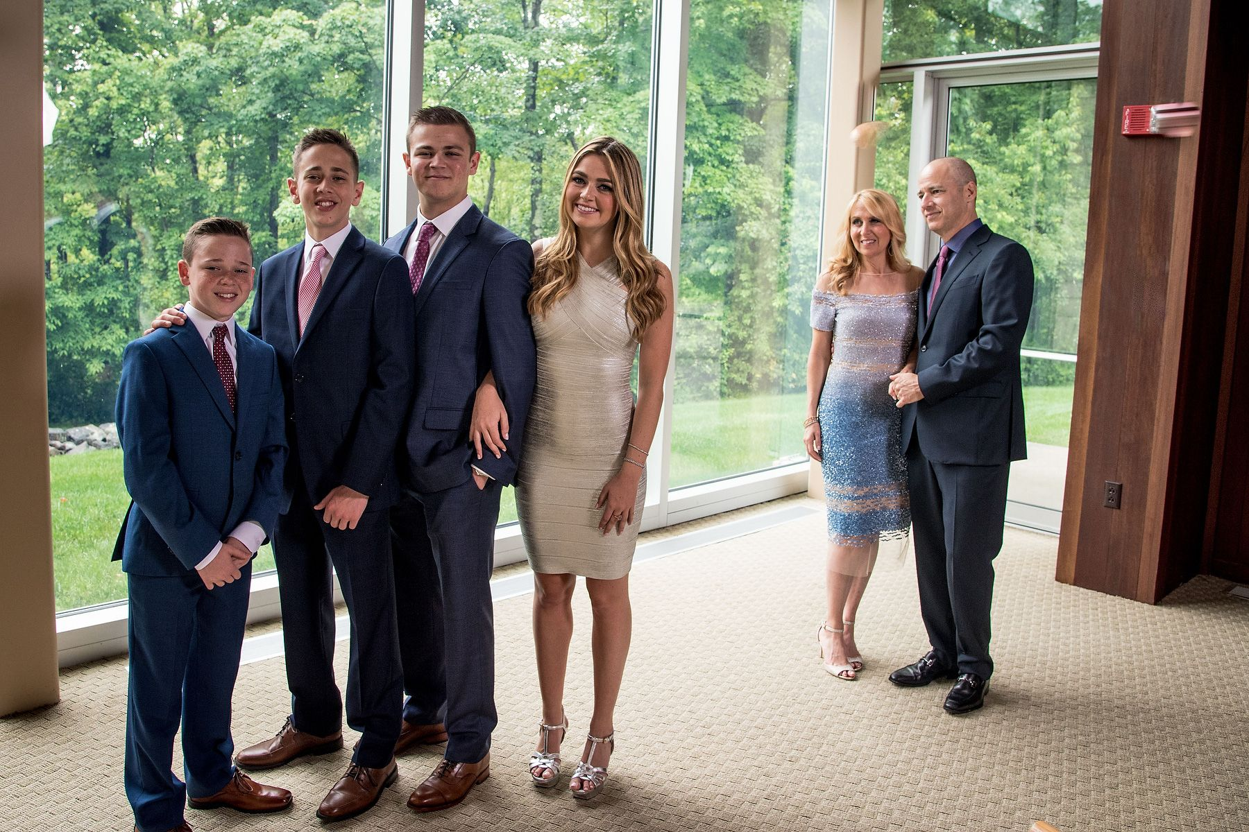 Armonk Family Bar Mitzvah Portrait