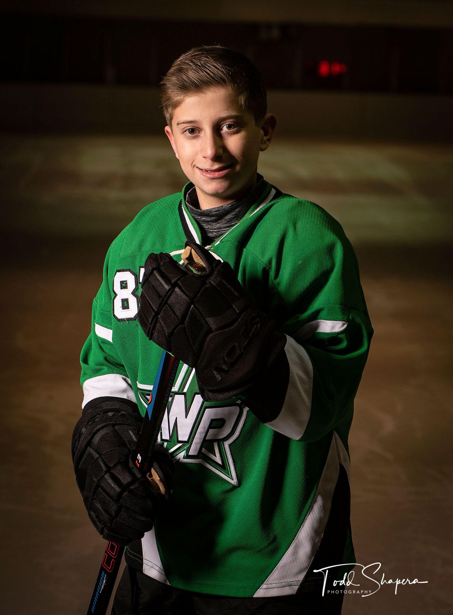 Bar Mitzvah Ice-Hockey Portraits