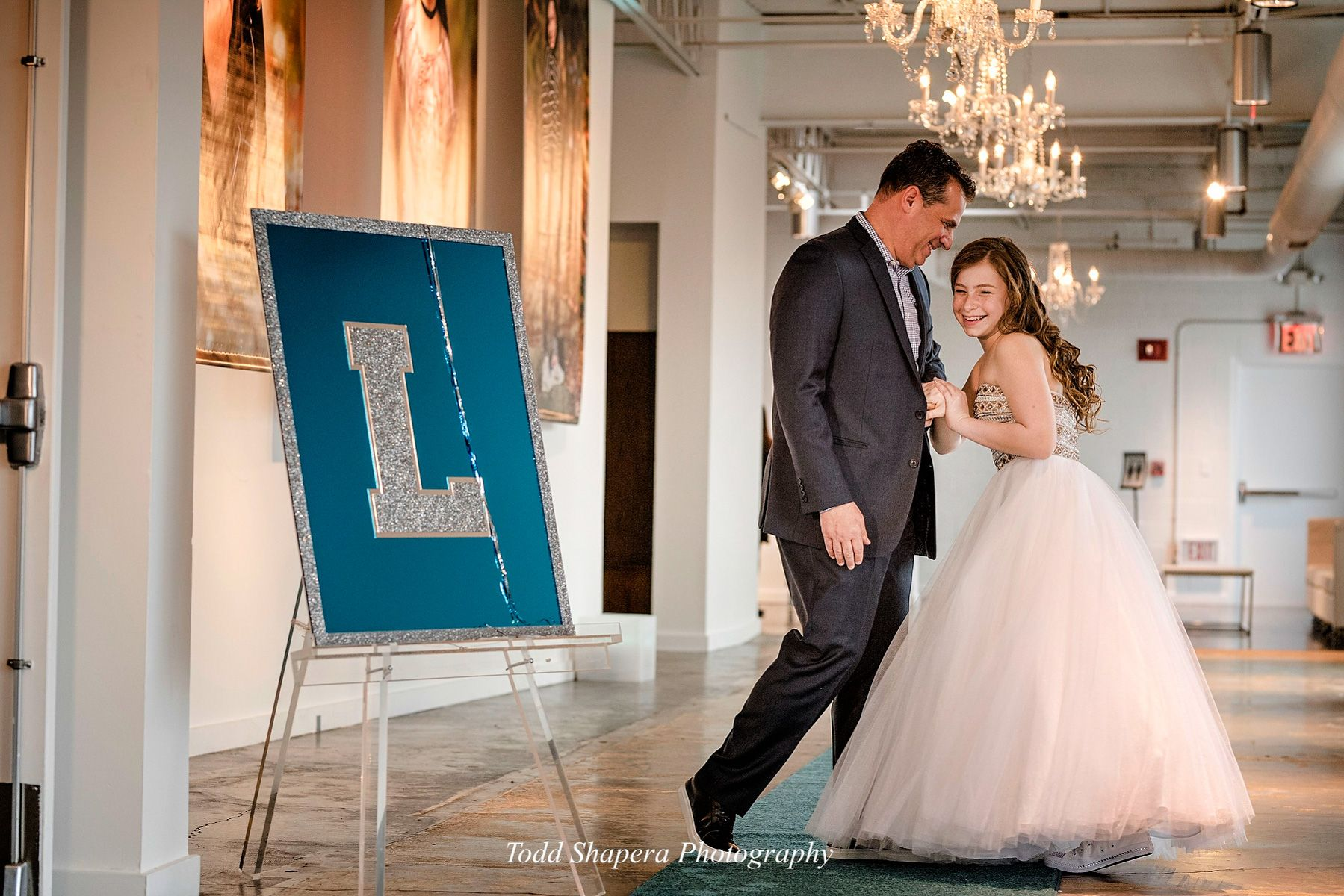 The Loading Dock: Father-Daughter Bat Mitzvah Portrait