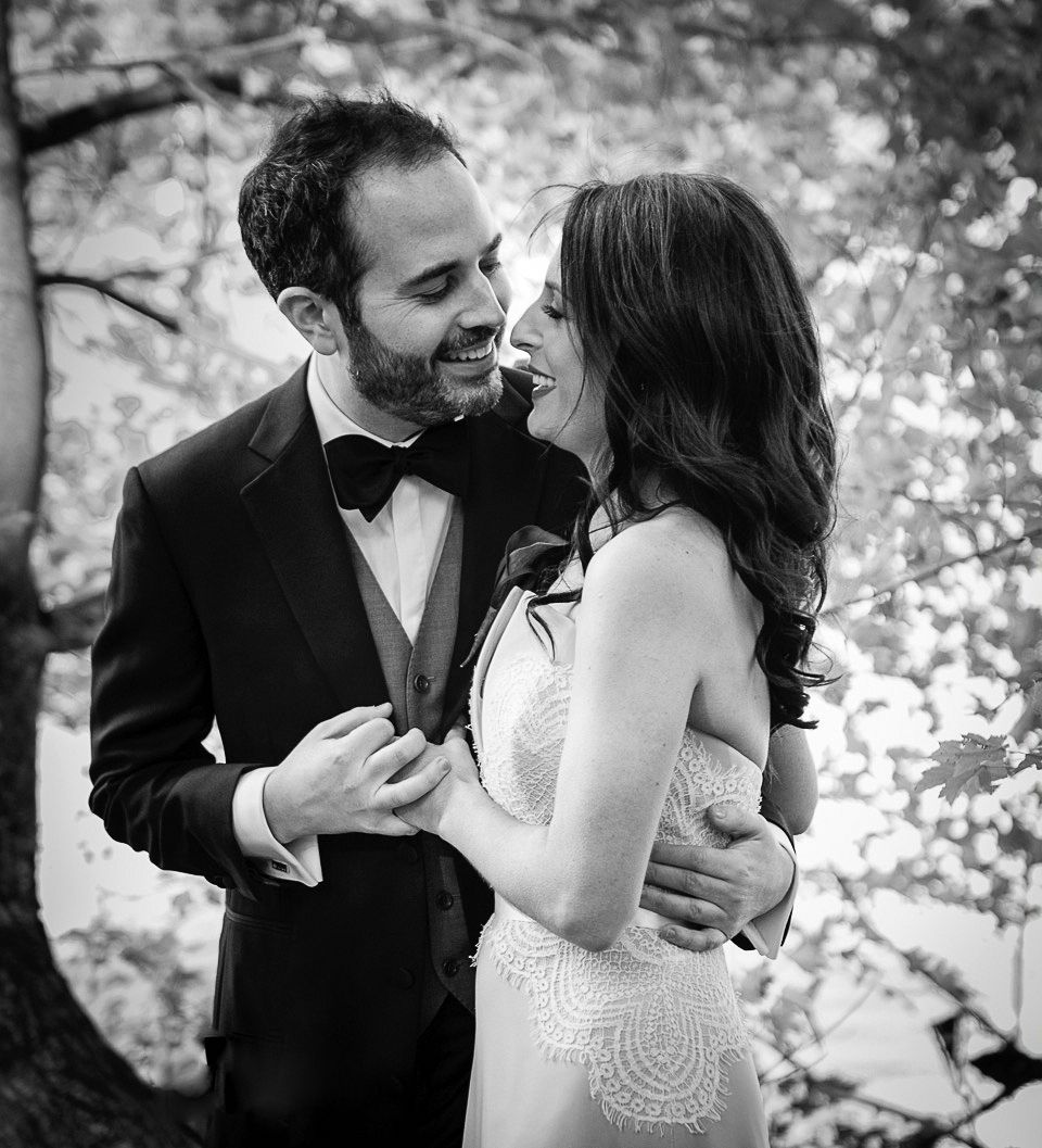 Wedding Romance In The Westchester Garden