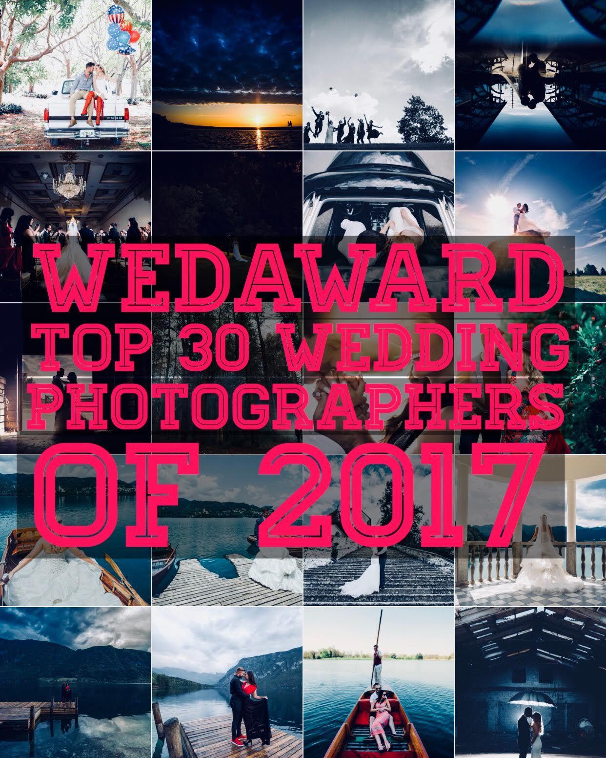 WedAward Top 30 Photographer