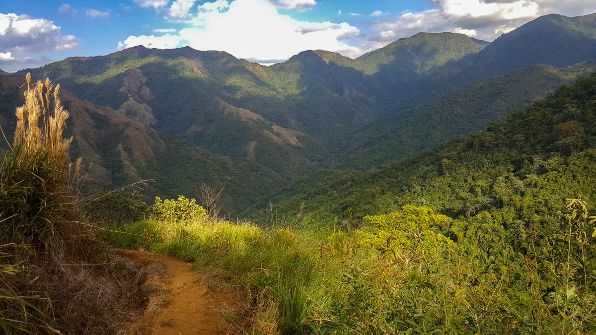 Cuba's rugged Sierra Maestra mountains