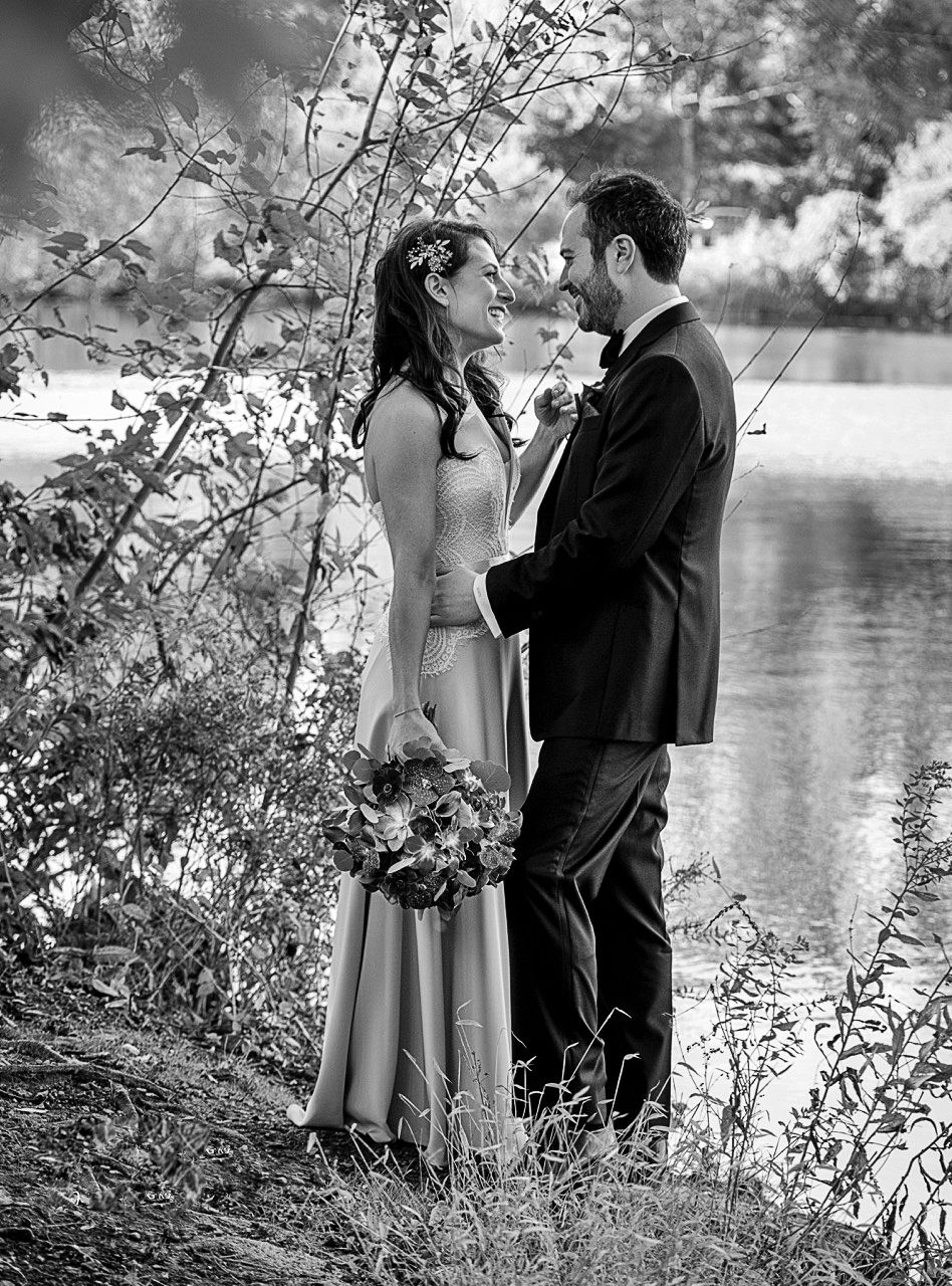 Wedding Romance By The Lake