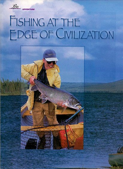 Fishing At The Edge of Civilization