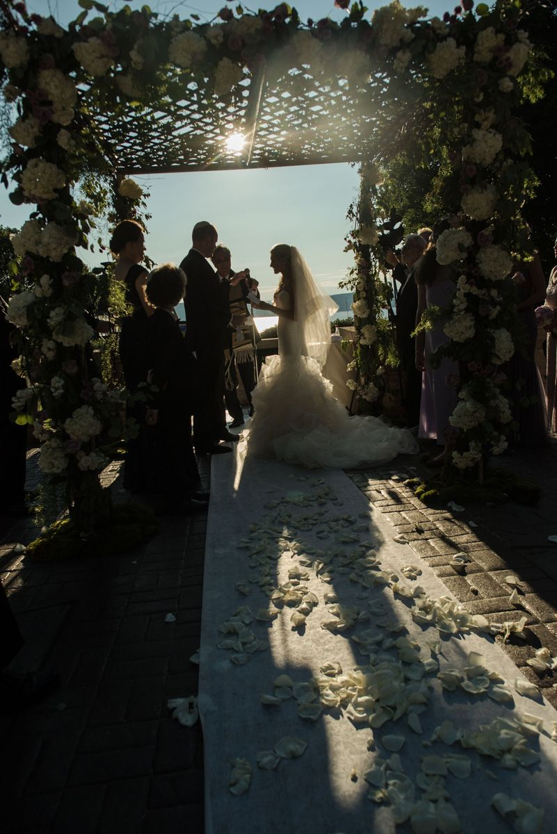 A Summer Sunset Tappan Hill Wedding Ceremony