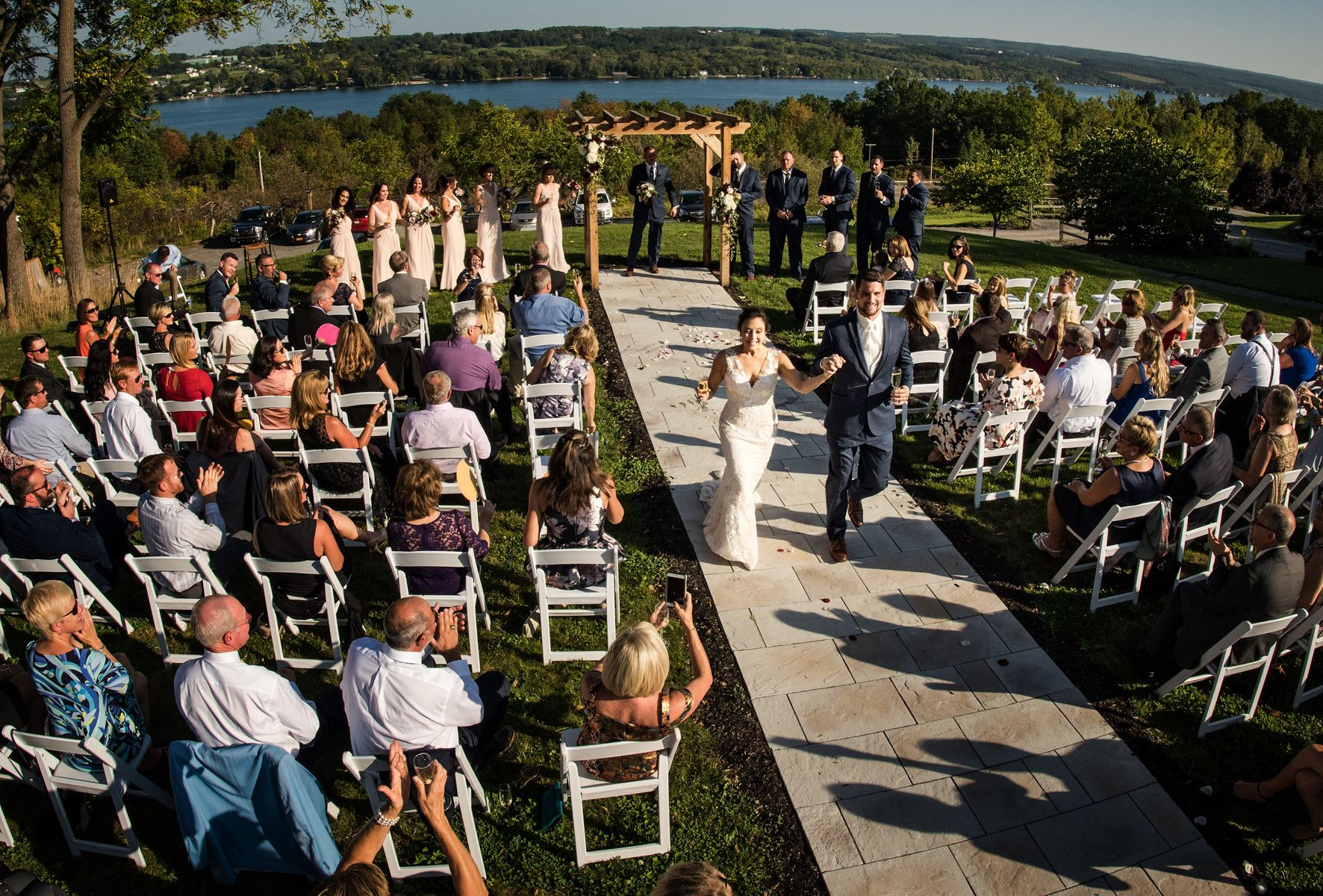 September Fingerlakes Wedding