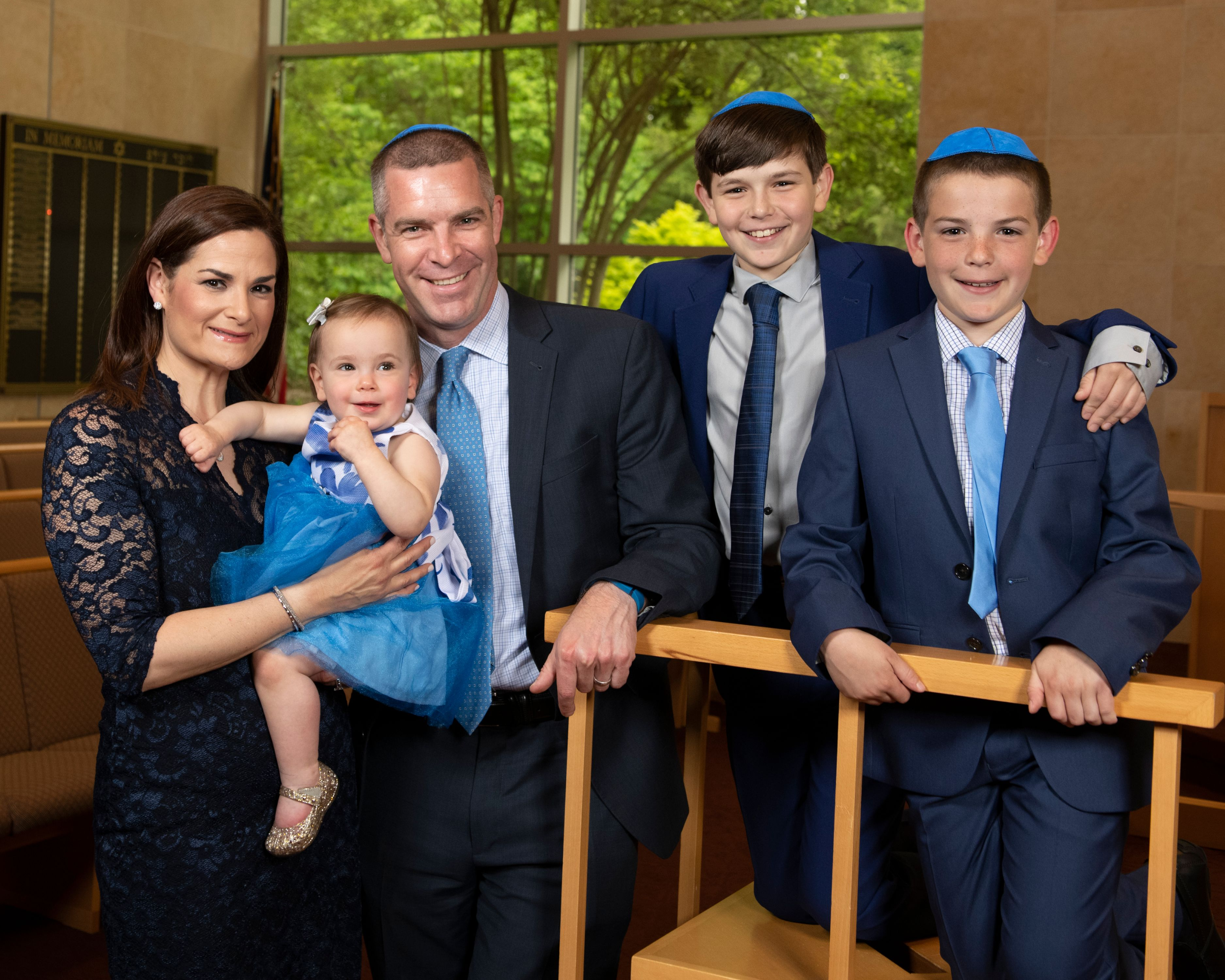 Westchester Family Bar Mitzvah Photography
