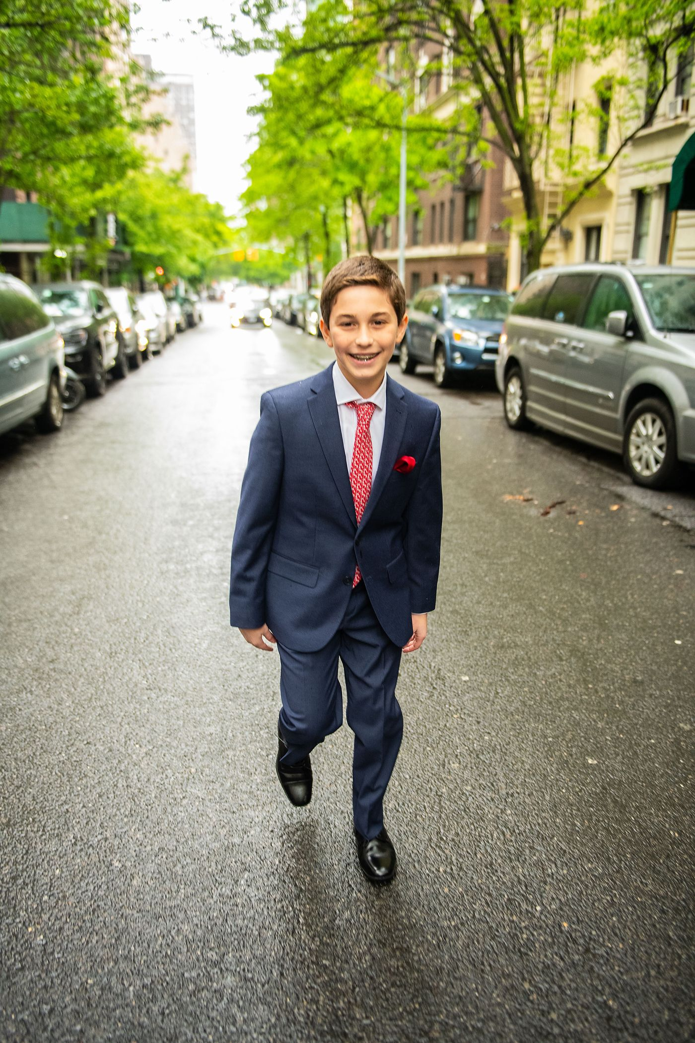 Manhattan Bar Mitzvah Street Portrait