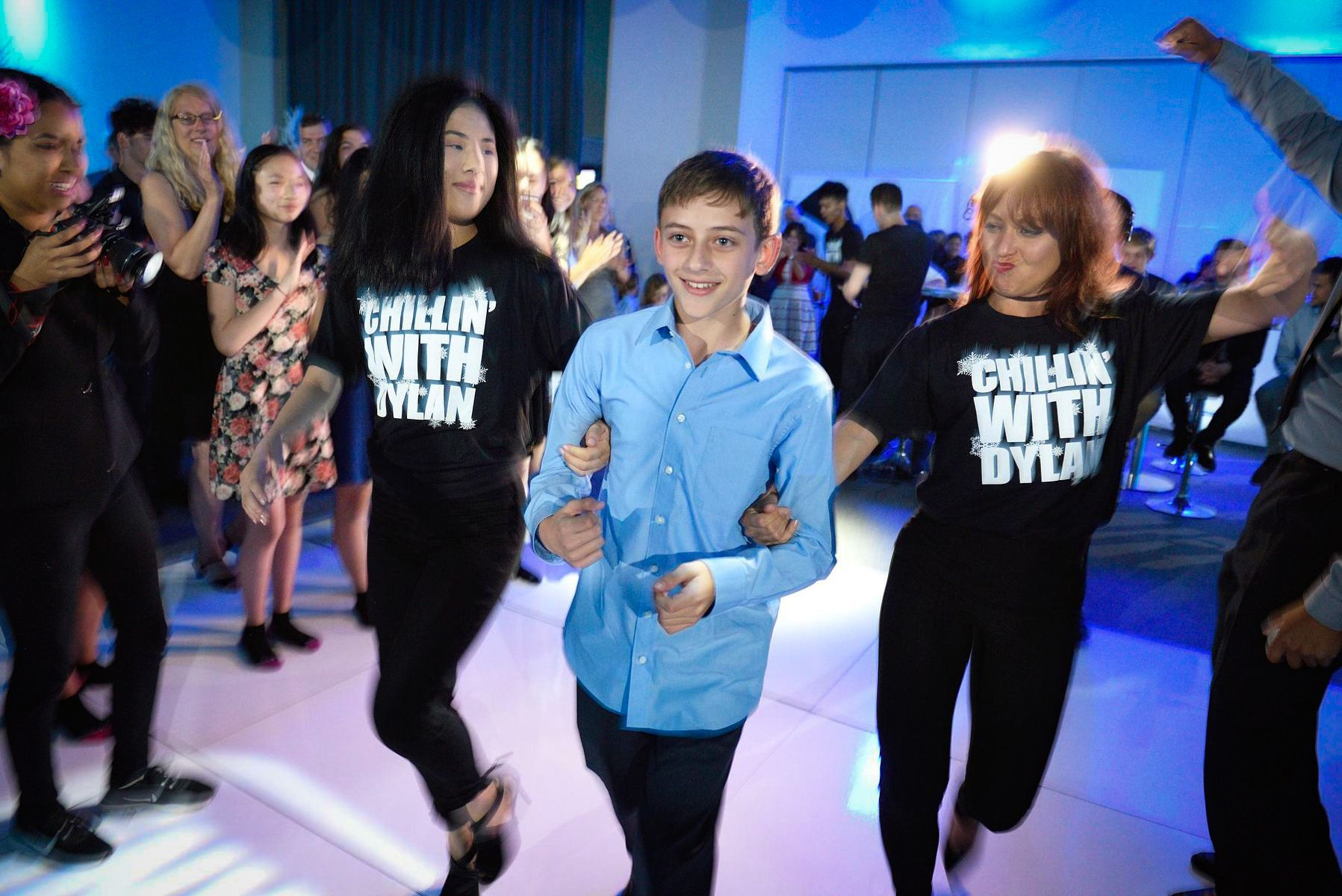 Bar Mitzvah Entrance