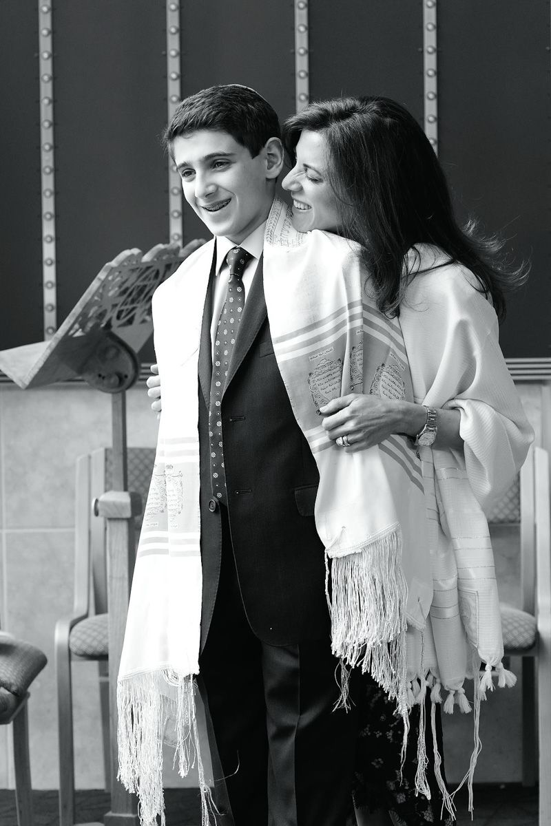 Bar Mitzvah Portrait - Black and White