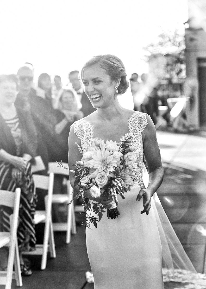 New York Rooftop Bride
