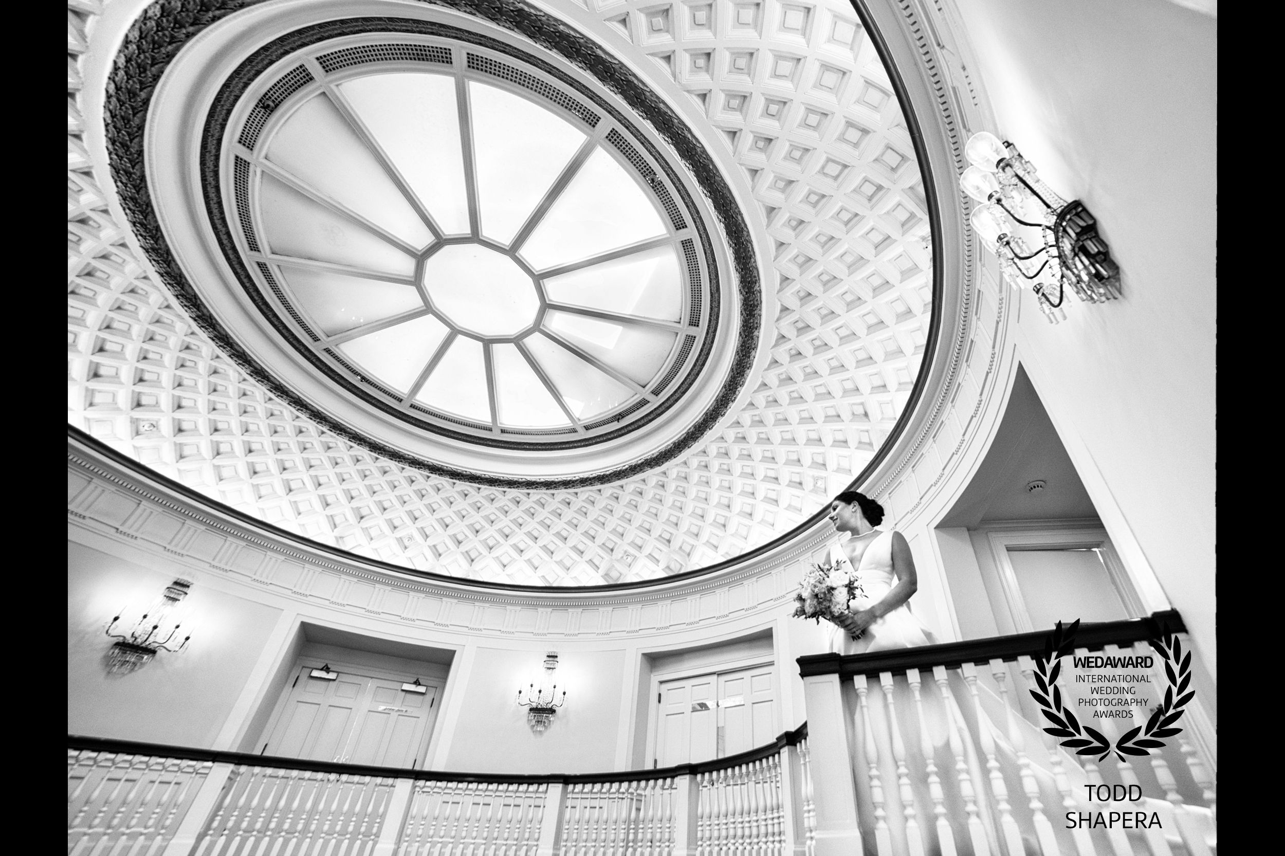 Bride Under The Tappan Hill Rotunda