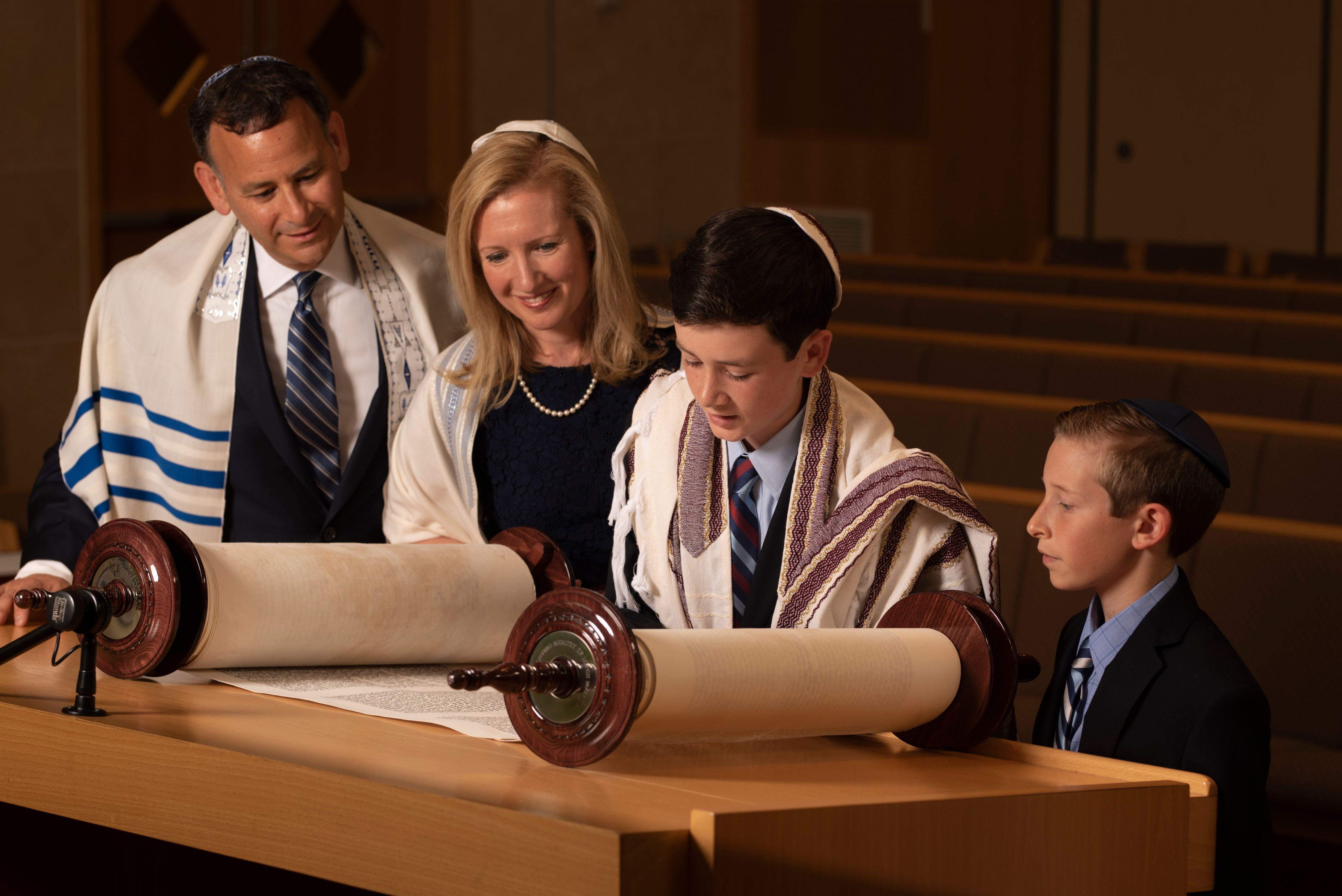 Bar Mitzvah Temple Portraits