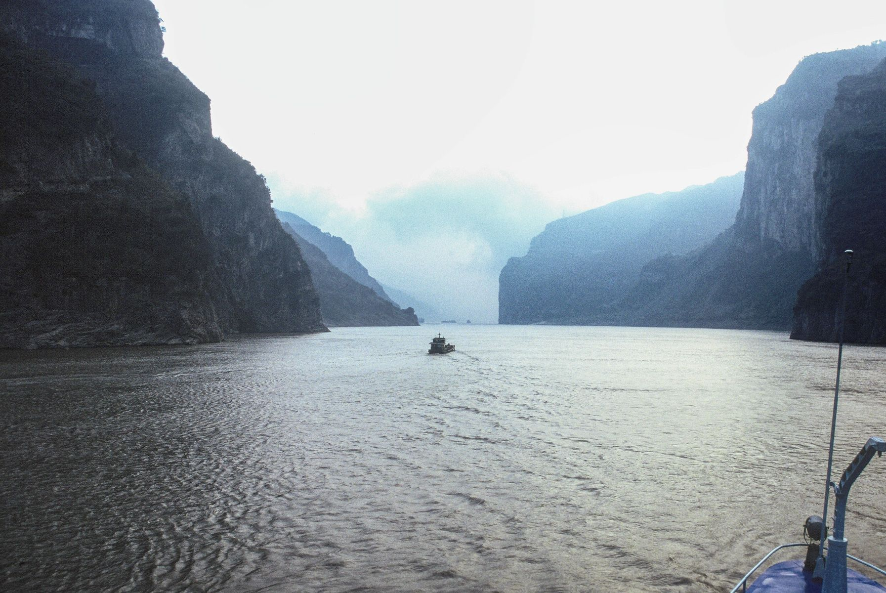 Wu Gorge Before The Dam