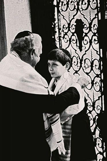 Grandpa's Bar Mitzvah Embrace