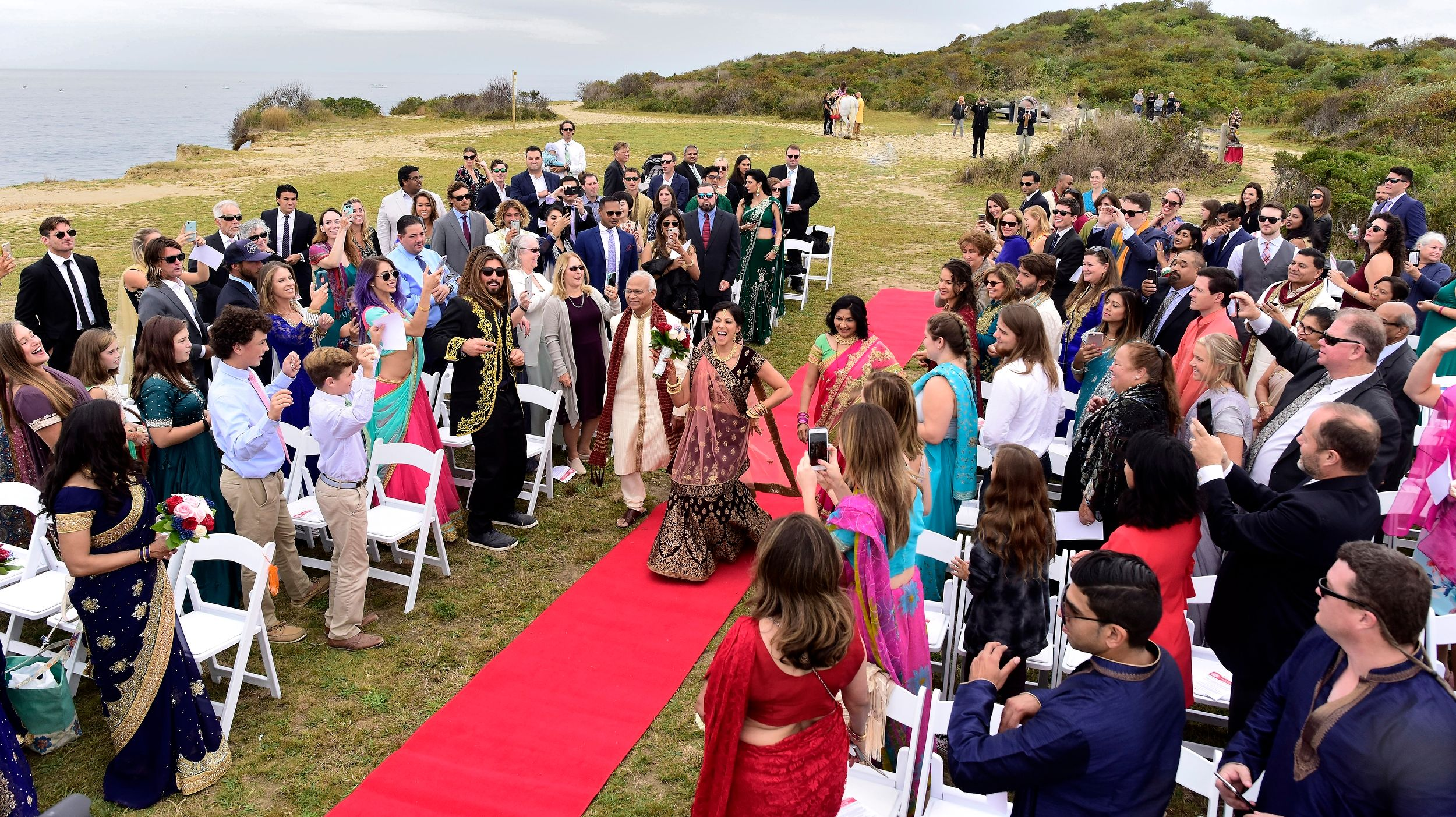 A Montauk  Wedding By The Sea