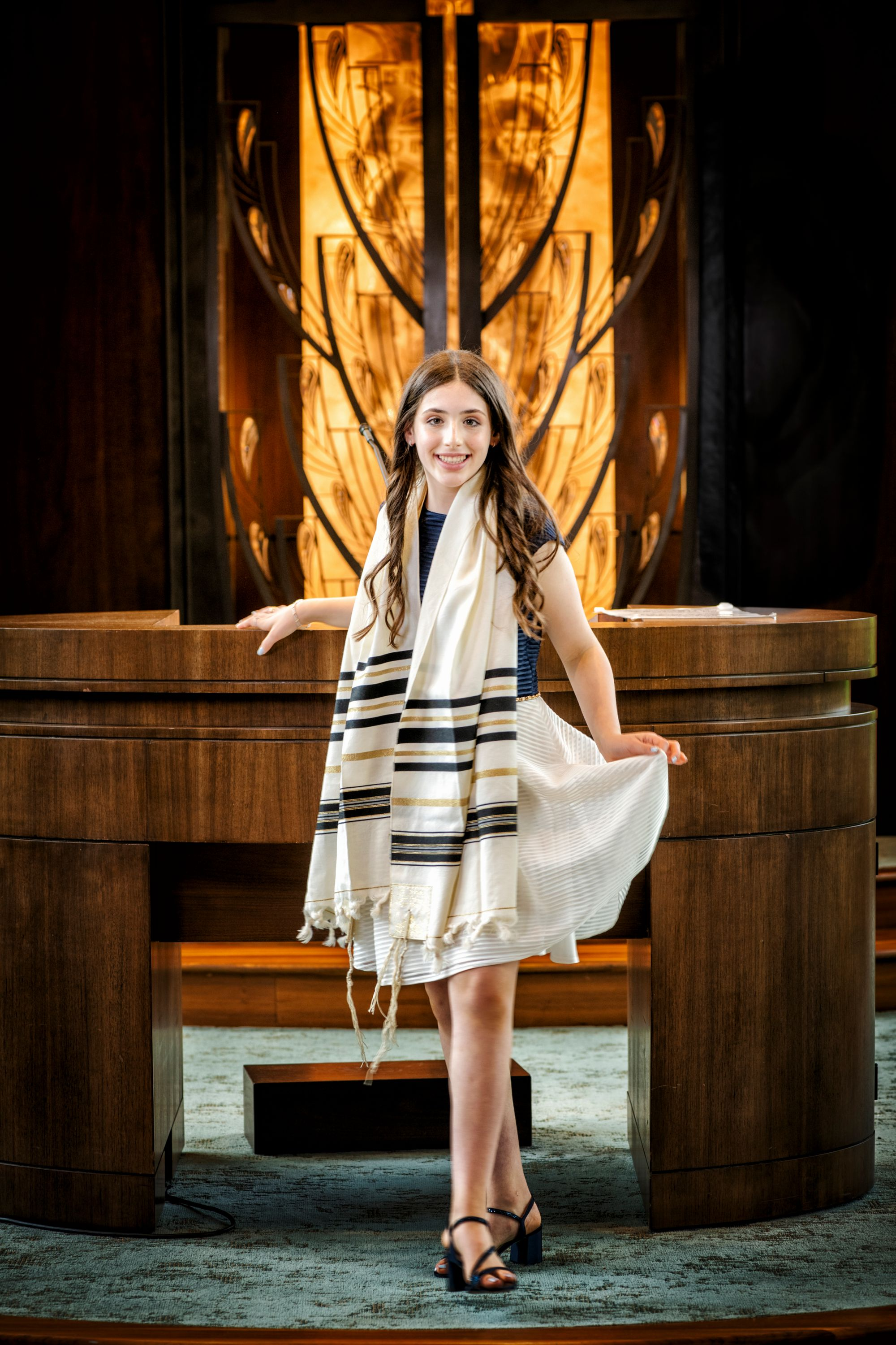 Dylan's Temple Bat Mitzvah Photography