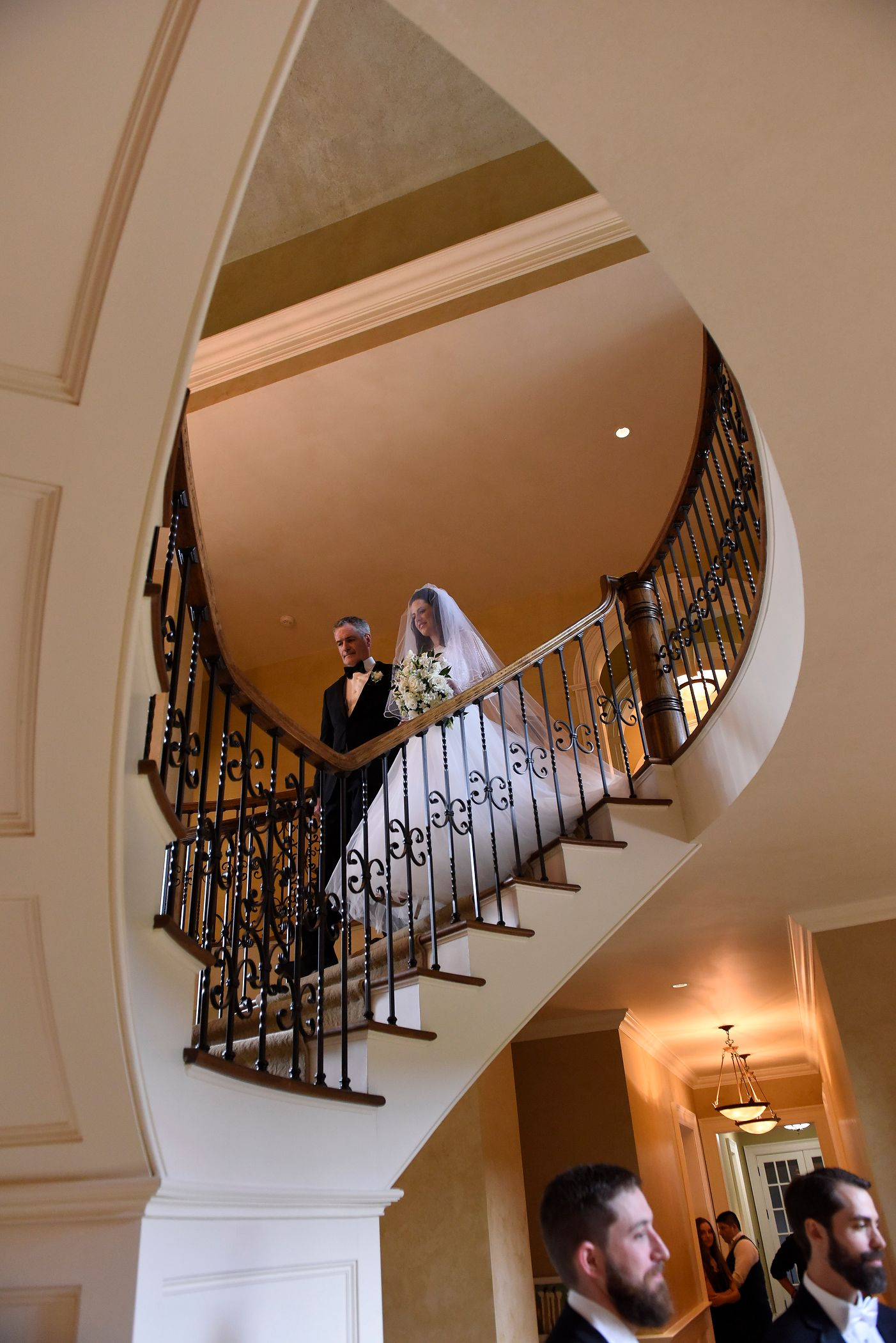Bridal Entrance On The Grand Stairs