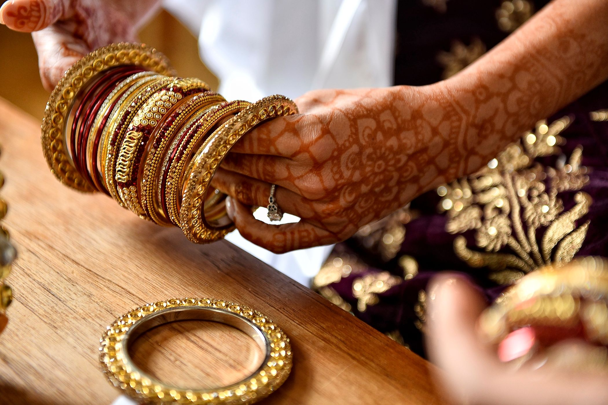 A Bride's Bangles and Henna