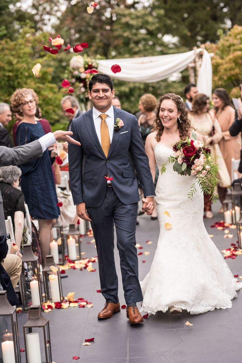 An Autumn Tappan Hill Wedding Ceremony