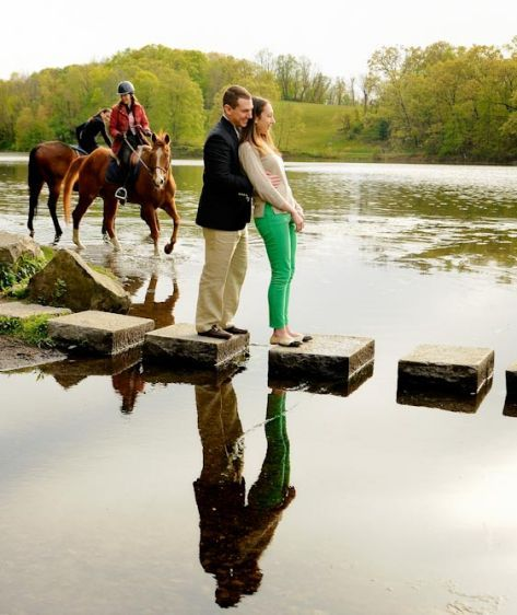 Swan Lake engagement portrat