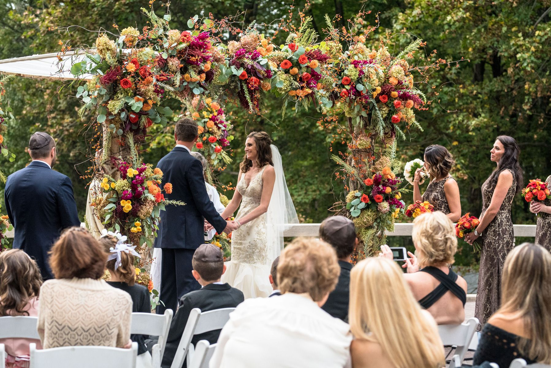 Tappan Wedding Ceremony Under Chuppah