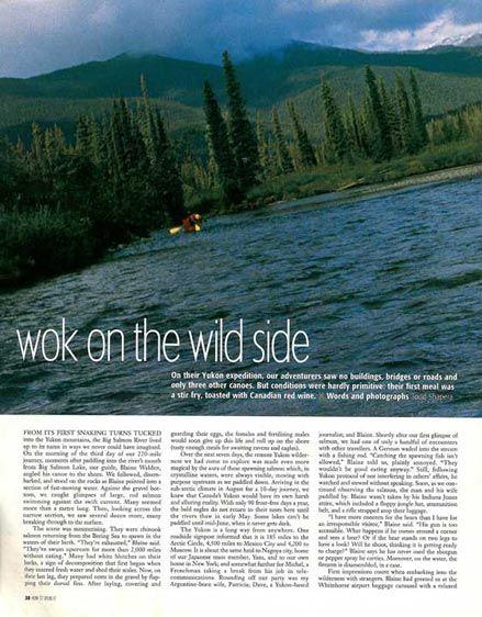 Paddling the Yukon's Blackstone River