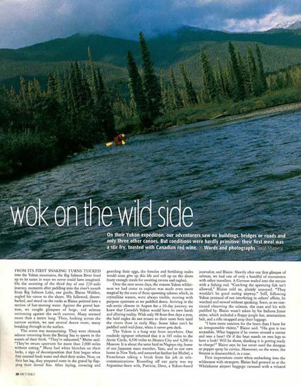Paddling the Yukon's Blackstone River