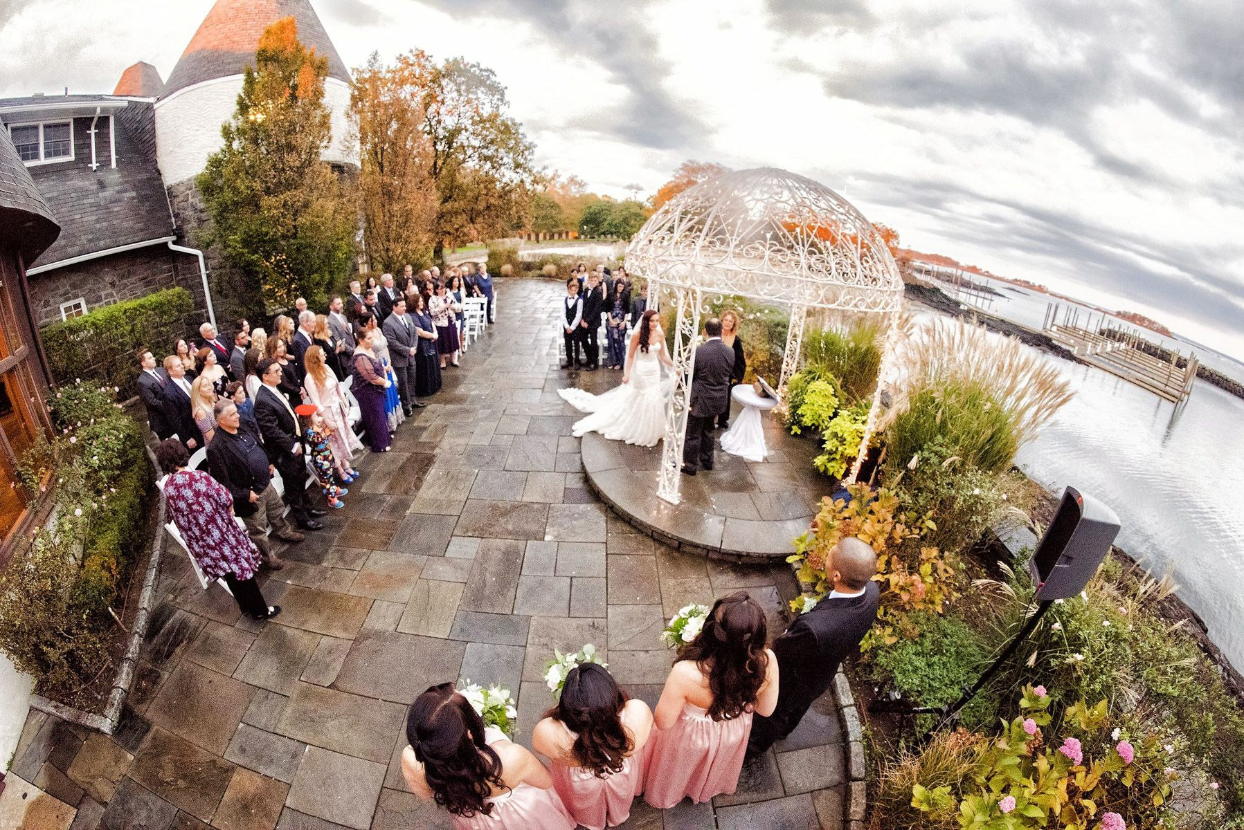 Waterfront, Yacht Club Wedding Ceremony