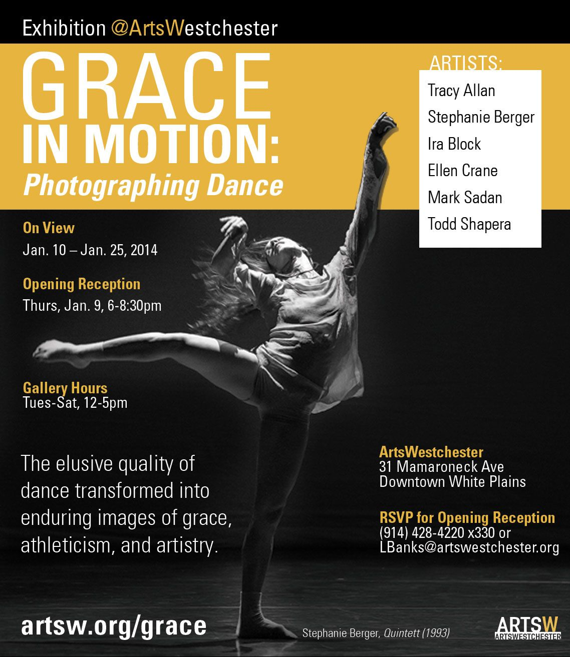 An Exhibit of Dance Photography