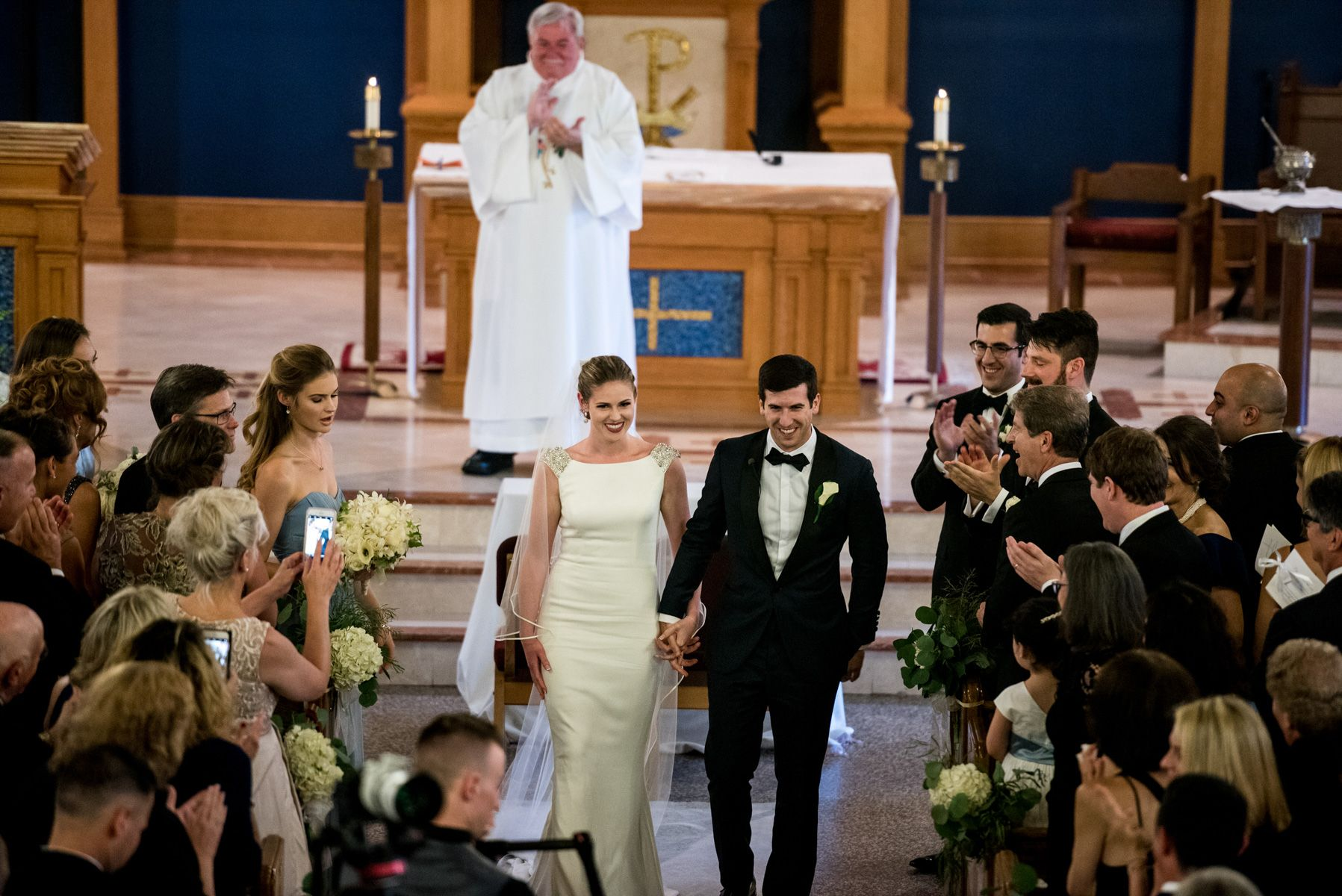 A Wedding Mass in Larchmont, New York