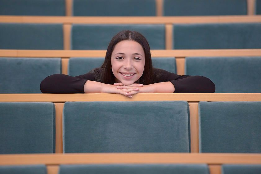 Relaxed Bat Mitzvah Portrait