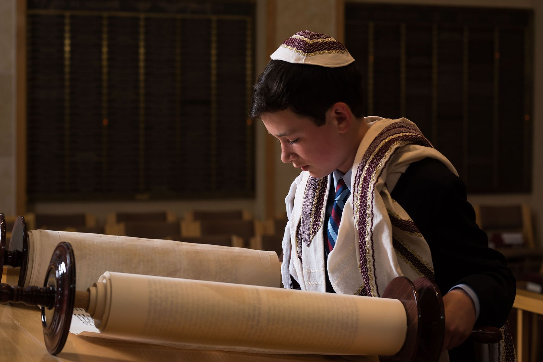 Mt. Kisco Torah reading