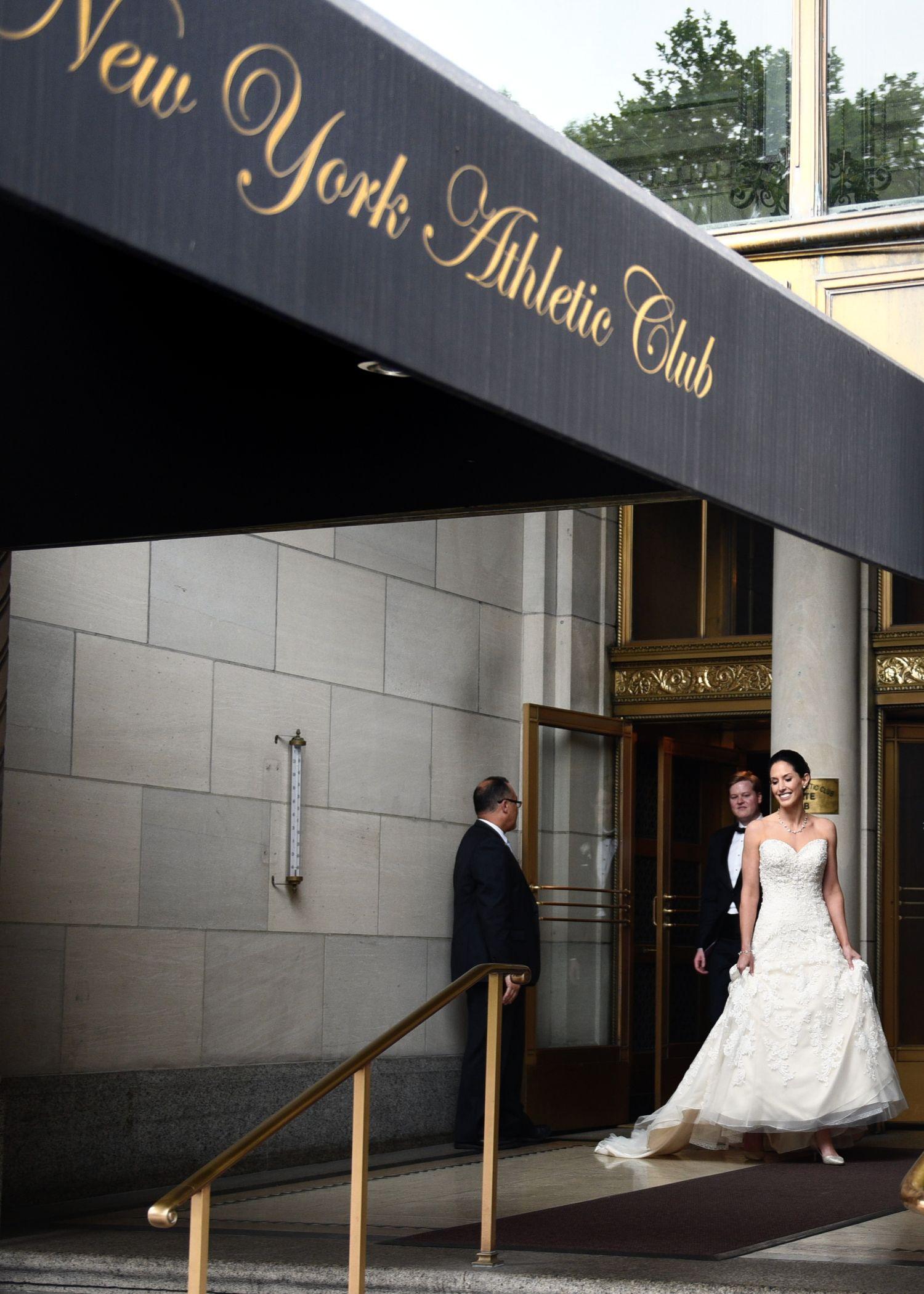 An Elegant New York Athletic Club Wedding
